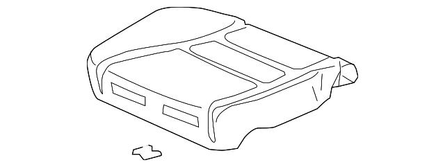 Honda Genuine 81137-SDA-L03 Seat Cushion Pad