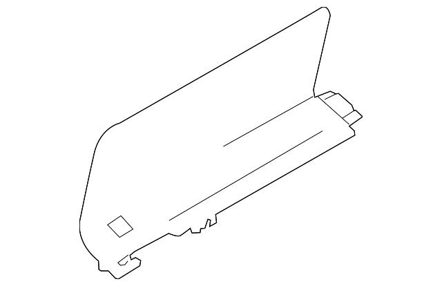 2019 Nissan Armada Front Trim 849B7-1LA3B | Beeline Parts