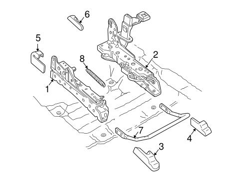 tracks components for 2005 mercury grand marquis. Black Bedroom Furniture Sets. Home Design Ideas