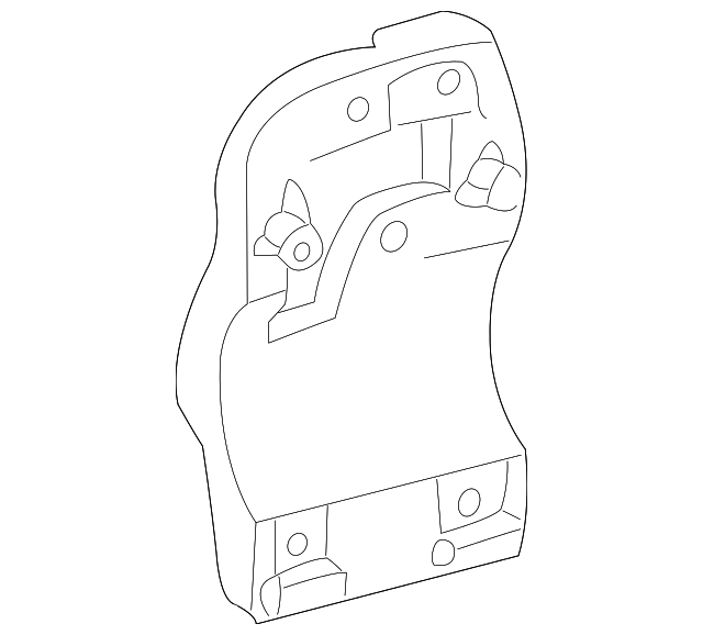 2000 2008 Toyota Compressor Bracket 88431 07021