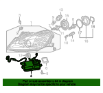 Unit Assembly, Hid - Honda (33109-S2A-013)