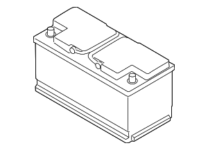 Vehicle Battery - BMW (61-21-7-635-788)