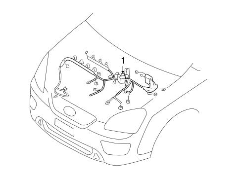 Wiring Harness For 2009 Kia Rondo