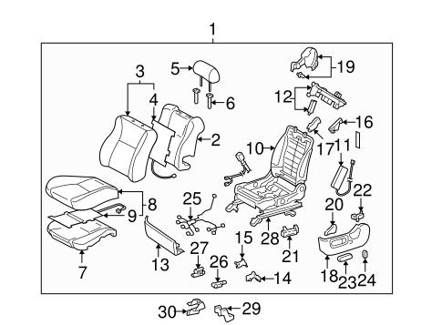 Power Seats For 2004 Toyota Solara
