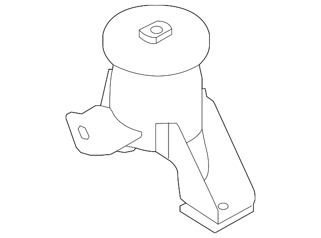 genuine ford front mount 9e5z