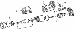 Bearings, Front, Rear