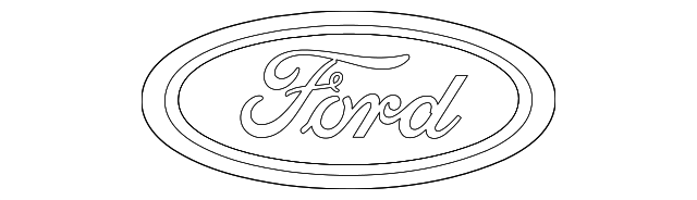 Exterior Car Part Names: Name Plate For 2014 Ford Taurus