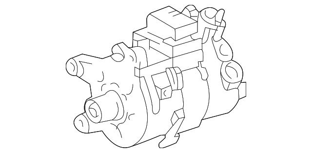 2001 2010 Lexus Compressor 88320 3a231 84