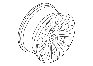 Wheel, Alloy - BMW (36-11-6-760-629)
