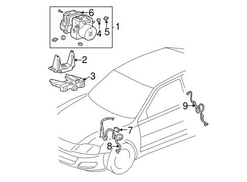 Anti Lock Brakes For 2000 Toyota Avalon