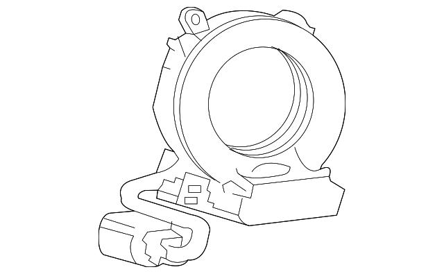 Mitsubishi Steering Sensor Assembly 8651a086
