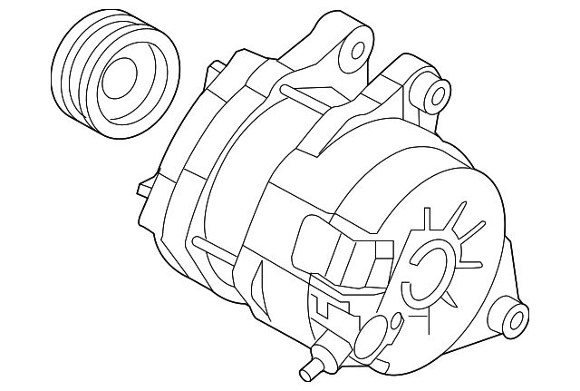 Toyota Alternator Wiring
