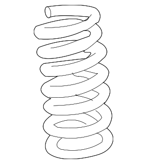 Coil Spring - GM (15032651)