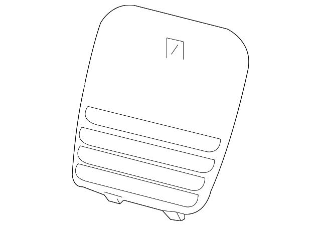 fuse box door 84289000