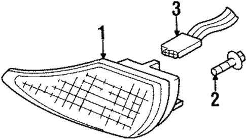Pontiac Firebird Connector 1998 2002