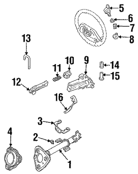 Housing & Components for 1987 Ford Aerostar #1