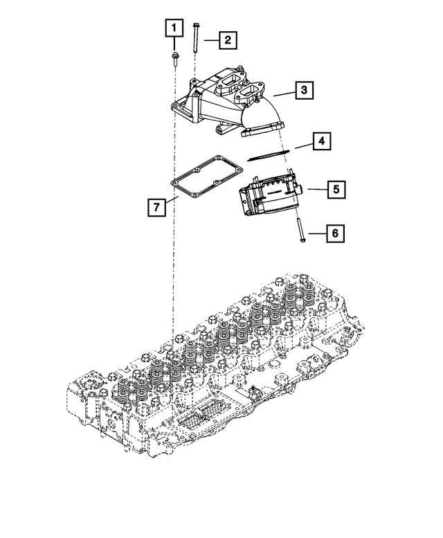 Air Intake Connector - Mopar (68067166AA)