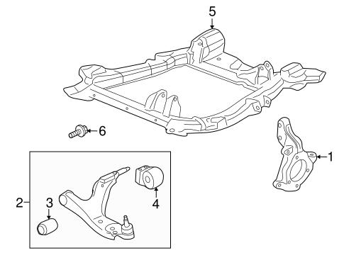 suspension components parts for 2007 saturn vue. Black Bedroom Furniture Sets. Home Design Ideas