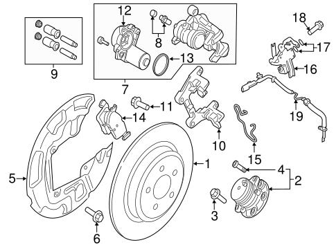 Anti Lock Brakes For 2016 Lincoln Mkx