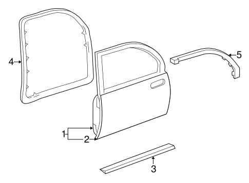 outer panel gm 25739112. Black Bedroom Furniture Sets. Home Design Ideas