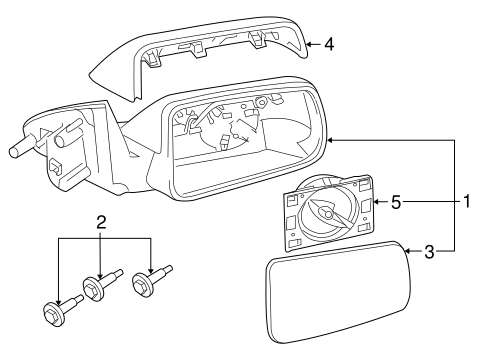Electrical/Mirrors for 2011 Ford Focus #1