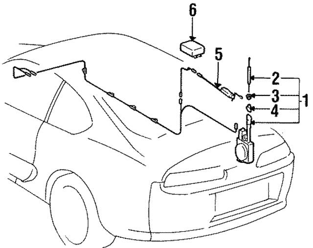 1990 1998 Toyota Relay 85914 33010