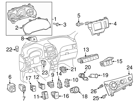ELECTRICAL/HEADLAMP COMPONENTS for 2012 Toyota Sienna #3
