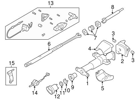 Oem 2003 Chevrolet S10 Housing Components Parts