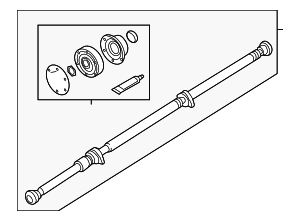 Drive Shaft - Volvo (31492145)