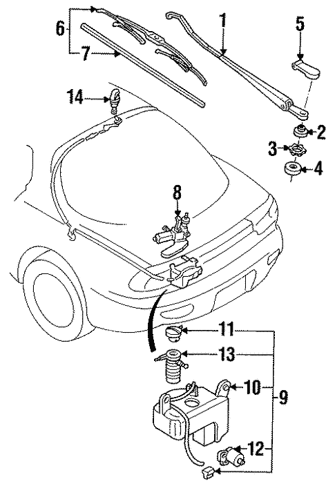 Illumination Lights Wiring Diagram Of 1994 Mazda Rx 7