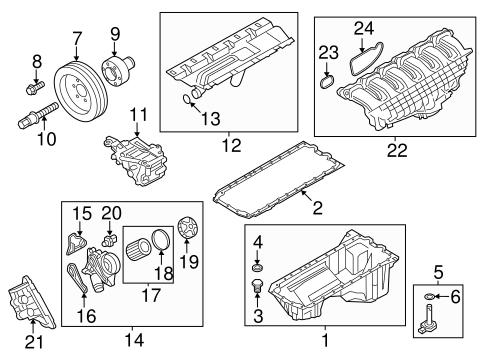 Engine Parts for 2017 BMW X5   getBMWparts   X5 Engine Diagram      getBMWparts