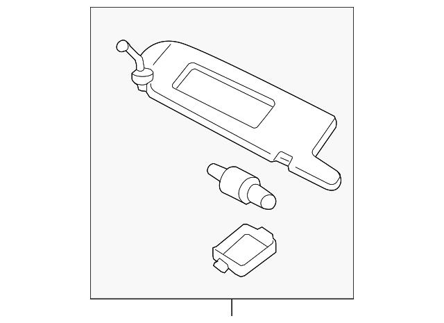 sun-visor screw