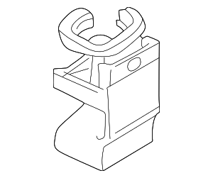 Cup Holder - Mercedes-Benz (6-6-92-0101)