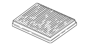 Cabin Air Filter - BMW (64-31-2-207-985)