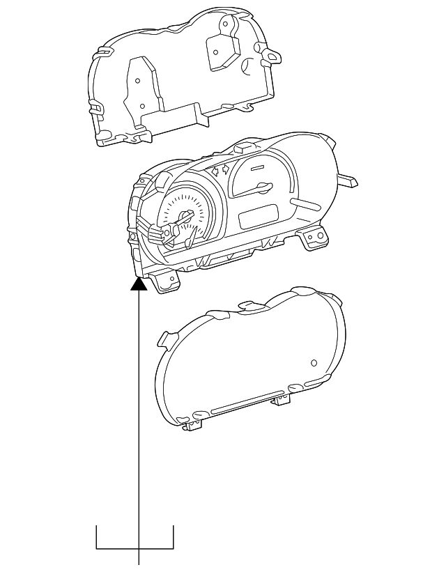Instrument Cluster Toyota 838005c802 Parts. Instrument Cluster. Scion. Scion Xa Instrument Cluster Diagram At Scoala.co