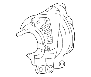 Alternator - Land-Rover (YLE500390)