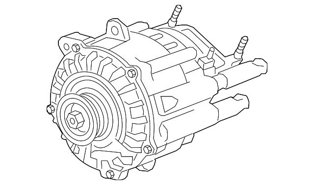 Alternator - GM (24266687) | GMPartOnline