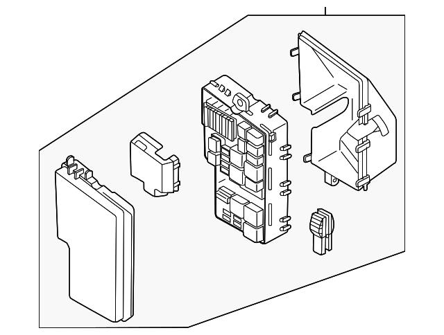 mazda fuse  u0026 relay box  eh44