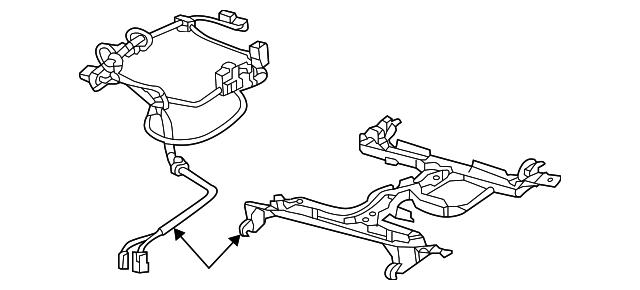 wire harness - gm (92258952)