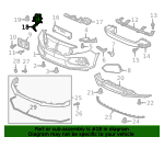 Plate, R Front Bumper Side Induction - Honda (71201-TGH-A00)