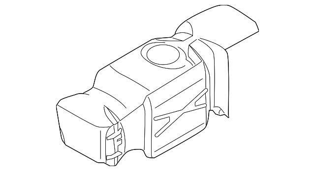 2004 2006 Dodge Fuel Tank 55366067ae