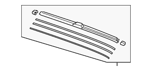 Blade, Windshield Wiper (650MM) - Honda (76620-TLA-A02)