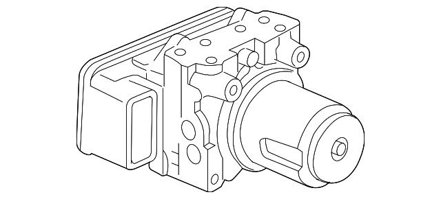 2012 2014 acura tl sedan modulator assembly vsa rewritable 57111 2014 Acura RDX modulator assembly vsa rewritable acura 57111 tk5 a21