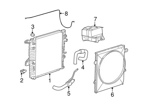 radiator & components for 2002 ford ranger | tascaparts 2002 ford ranger fuel system diagram #2