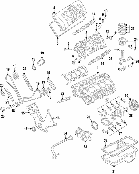 Engine For 2011 Ford F 150