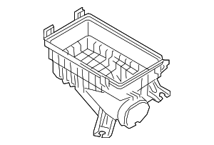 Air Cleaner Body - Hyundai (28112-H9100)