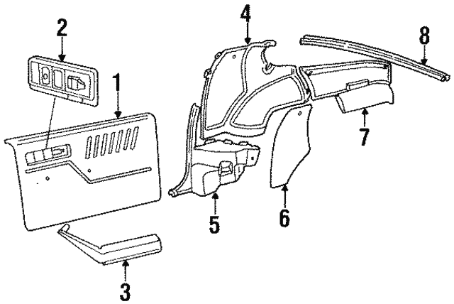 Part Can Be Found As Reference 3 In Illustration: Wiring Diagram For 88 Trans Am Gta At Obligao.co
