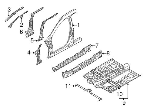 aperture panel for 2015 lincoln mkt silver state ford parts. Black Bedroom Furniture Sets. Home Design Ideas