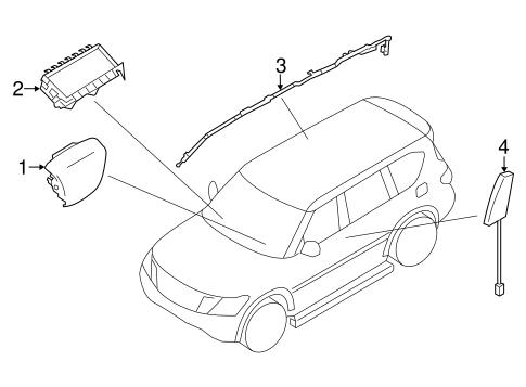 Air Bag Components for 2016 Infiniti QX80 | Infiniti Parts