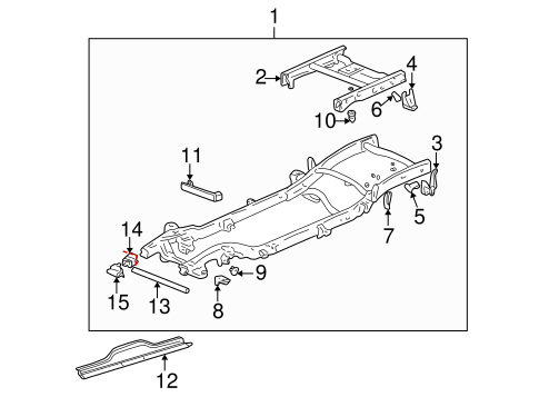 Gm Frame Assembly 15148512